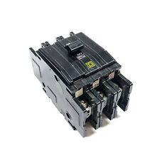 Qou3100 Square D Circuit Breaker, 3-Pole, 240 Vac, 60 deg/75 deg C
