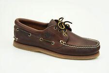 Timberland 3-eye Classic boat talla 41,5 us 8 vela zapatos caballero zapatos 76015