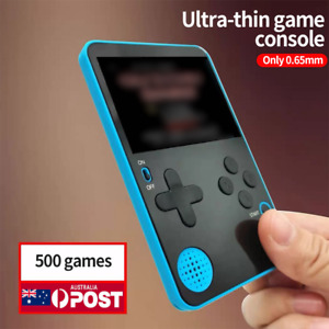 Super Slim Game Boy Handheld RS-60 500 In 1 Pocket Portable ULTRA Thin Console