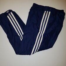 Men's Vintage Adidas Full Zip Legs Athletic Pants Sz Medium M