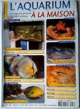 Aqua Pratique n°47; Les crustacés marin/ Les reptiles/ Lac Tanganyika/ Discus