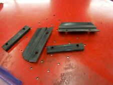 1987 Arctic Cat 440 JAG snowmobile parts: BOTH HOOD REST STRIPS w spacers