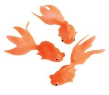 "12 - 3"" Floating Goldfish Soft Plastic Fish Toys Soap Making"