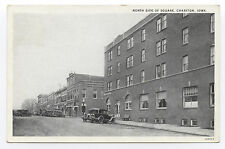 B&W WB North Side of Square, Chariton, IA, 1930s, Iowa