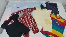7 Piece Size 0-3 Months Baby Boy's One Piece Clothes Bundle Lot red yellow blue