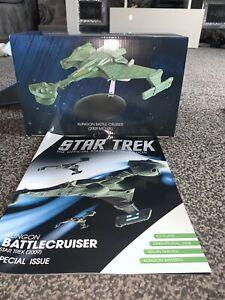Klingon Battlecruiser  Star Trek 2009 Special Issue Eaglemoss Official Starships