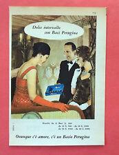 C566-Advertising Pubblicità-1959 - PERUGINA BACI