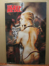 HEAVY METAL 1999 ORIGINAL Vintage science fiction and fantasy movie Poster 1506
