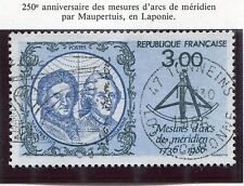 STAMP / TIMBRE FRANCE OBLITERE N° 2428 MAUPERTUIS LAPONIE
