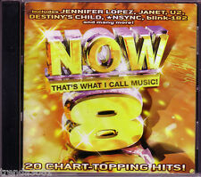 Now Thats What Call Music Volume 8 Classic Pop Blink 182 Jennifer Lopez Rare