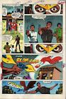 1982 Zeck Captain America 272 page 9 Marvel Comics color guide art:1980's/Falcon