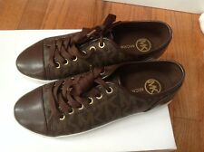 NEW MICHAEL Michael Kors Women's City Sneaker MK Signature Size 9.5 NIB