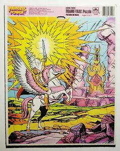 Vintage 1985 Golden Princess of Power Frame Tray Puzzle She-Ra He-Man 80s MOTU