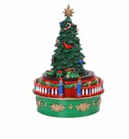 Mr. Christmas Mini Carnival Christmas Tree with Train Music Box ~ NEW IN BOX