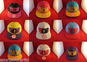 YMCMB Snapback Flat Peak Adjustable Summer Hat Various Colours SportsLocker