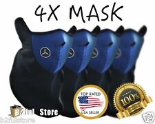 4 Pack Winter Neoprene Half Face Mask With Filter Motorcycle Ski Blue Mask USA