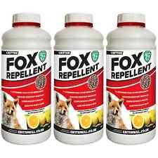 FOX REPELLENT DETERRENT SCARER HUMANE OUTDOOR GARDEN - PROFESSIONAL STRENGTH
