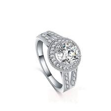 Jewelry Engagement Ring Jewelry Simulated Diamond Ring Round Wedding Ring