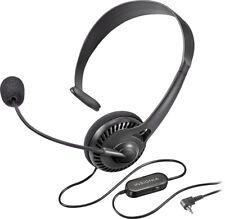 Insignia NS-MCHM25P Landline Phone Hands-Free Headset Black