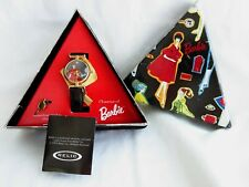 1995 CHARMS OF BARBIE RELIC QUARTZ WATCH WITH BOX AND TAGS