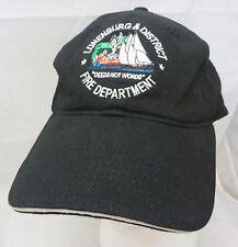 Lunenburg & District Fire Department baseball cap hat adjustable buckle