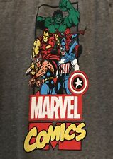 Marvel  Comics Sweatpants Xl Nwt Thor Spiderman Captain America Hulk Iron Man