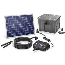 Solar Teichfilter Set 50/2500 Solarpumpe Außenfilter Gartenteich esotec 101080