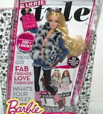 BARBIE DOLL STYLE COLLECTION NEW IN BOX BARBIE DOLL FASHION BOOK NOT IN STORES