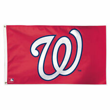 Washington Nationals Flag - Deluxe 3' X 5' By Wincraft