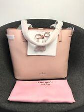 Kate Spade New York Hayes Street Nandy Leather Tote Handbag In Sofy Pink £295