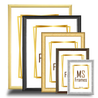 Picture Poster Photo Frame Black White Beech Silver Gold Walnut A1 A2 A3 A4 A5