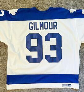 Doug Gilmour Toronto Maple Leafs Vintage CCM Size XXL NHL Jersey white With Tags