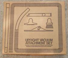 Vintage Eureka Upright Vacuum Attachment Set Model 60 Type D White