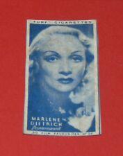 CINEMA 1948 TURF CIGARETTES CARD FILM FAVOURITES MARLENE DIETRICH HOLLYWOOD