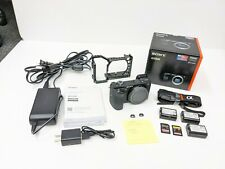 Sony Alpha a6500 24.2MP Mirrorless Digital Camera - Black (Body & Extras) - Used