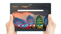 "NEW Lenovo Tab 10 10.1"" HD Vibrant Quad Core 2GB RAM 16GB HD WiFi Android"