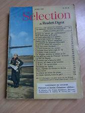 Sélection du Reader's Digest avril 1952 Vintage 50 french magazine