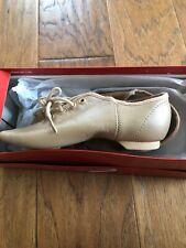 Capezio Jazz Shoe Youth Girls Tan Size 12
