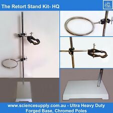 Retort Stand Kit clamp boss head