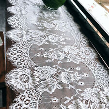 Home Table Cloth Cover Lace Towel Pastoral Embroidery Rectangles  ONE