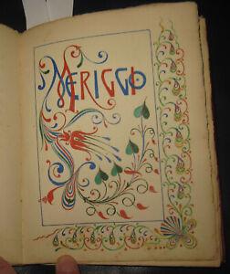 1870 Giuliani, Poesie, Manoscritto, Recanati Macerata Sicilia, Catania, Girgenti