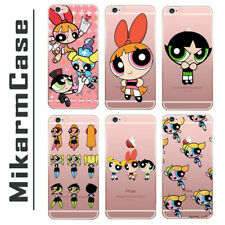 The Powerpuff Girls characters Soft TPU Silicone Case Cover For Apple iPhone