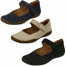Ladies Clarks Casual Flat Shoes *Autumn Stone*