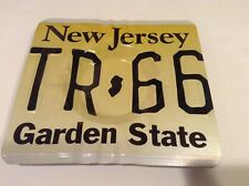 Ashtray License Plate Metal Ashtray New Jersey Garden State NEW