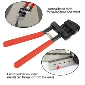 Carbon Steel Edge Setter Joggler Flanging Hole Punching Pliers Tool 5mm Puncher