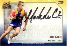 2011 Select AFL Champions Stars Authentic Signature Card SS8 Mark LeCras-Eagles