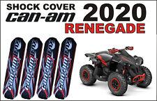 Quad ATV Shock Covers Set 4 Can-am RENEGADE 800 1000 RED 500 570 650