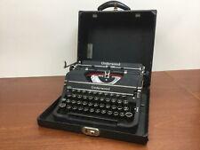Vintage Underwood Universal Portable Manual Typewriter -  -Used w/ Case WORKS