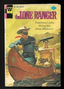 Whitman Comic - The Lone Ranger  # 18 (1964) Lone Ranger & Tonto with canoe