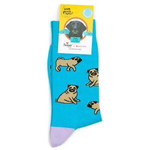St.Friday Socks - Mops Pugs Dog Pattern Socks